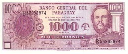 PARAGUAY 1 000 Guaranies  Serie 2002   Pick 221    ***** BILLET  NEUF ***** - Paraguay