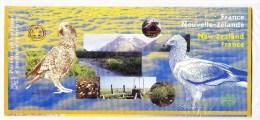 POCHETTE PHILATELIQUE D� EMISSION COMMUNE FRANCE - NOUVELLE ZELANDE 2000. (4FV9)