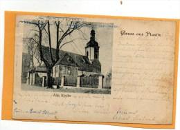 Gruss Aus Planitz 1900 Postcard - Zwickau