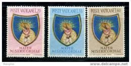 VATICAN 1954  Fin De L'année Mariale  Sass. 189-91  NC * - Vatican
