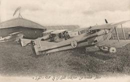 CPA Sous-titrée En Arabe - Un Coin Du Parc D'aviation Dans La Meuse - Guerra 1914-18
