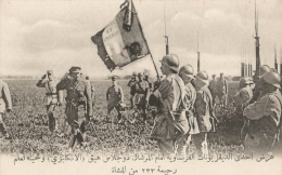 CPA Sous-titrée En Arabe - Revue D'une Division D'infanterie Française Par Le Maréchal Douglas Haig - Guerra 1914-18