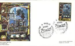 (240) Spain FDC Cover - 1978 - Pablo Picasso - Picasso