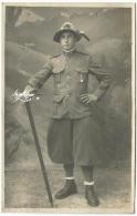 """1930 C.a. """" Militare Italiano - Alpino """" Carte Postale - Uniformi"""