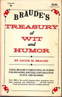Braudes Treasury Of Wit And Humor - Humour