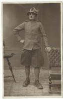 "1930 C.a., "" Militare Italiano - Alpino "" Carte Postale - Rajar - Uniformes"