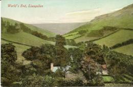 P-WORLD'S END-LLANGOLLEN - Denbighshire