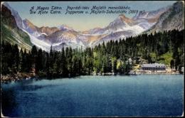 Cp Die Hohe Tatra Slowakei, Poppersee Und Majlath Schutzhütte - Slovacchia