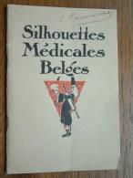 SILHOUETTES MéDICALES BELGES Première Série - COURRIER Médico-Pharmaceutique 1928 ( Pour Détail Voir Photo Svp ) ! - Diplômes & Bulletins Scolaires