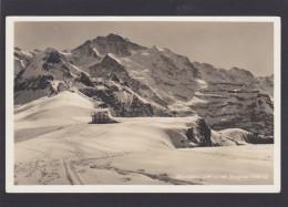 Old Card,Mannlichen Mit Jungfrau,Bernese Alps,Switzerland,Q12. - SZ Schwyz