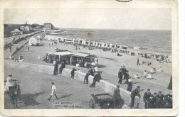 ESSEX - WALTON ON NAZE - THE BEACH 1907  Es374 - Other