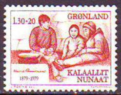 GRENLAND - KNUT  RASSMUSEN - EXPLORER - **MNH  -1979 - Polar Exploradores Y Celebridades