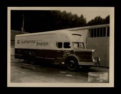 56 - GUISCRIFF - Très Belle Photo - Camion Transport LE MEUR à Guiscriff - Isotherme Breton -Carrosserie Pelpel à Rennes - Métiers