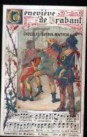 CHROMO CHOCOLAT GUERIN BOUTRON - GENEVIEVE DE BRABANT 11ème ET 12ème COUPLETS - Guérin-Boutron
