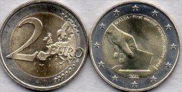 2 EURO Malta 2011 Stg 29€ Edition Erste Abgeordnete 1849 Mit Wahlurne 2€-Münze Stempelglanz Verfassung Coin Of Valetta - Malta