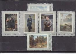 URSS - N° Y&T - 3766/71 - La Série Complete De 6  Valeurs   -  Tableaux  - N** - 1923-1991 URSS