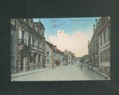 AK - Kusel - Bahnhofstrasse Mit Post ( Animée N° 210) - Kusel