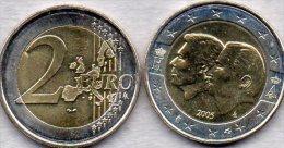 2 EURO Belgien 2005 Stg 35€ Sonder-Edition Wirtschafts-Union Luxemburg Fürst König 2€-Münze Stempelglanz Coin Of Belgica - Bélgica