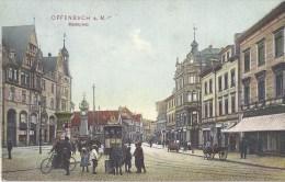 OFFENBACH  MARKTPLATZ    AK 1906   BKA-1 - Offenbach