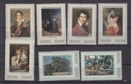 URSS - N° Y&T - 3928/34 - La Série Complete De 7  Valeurs - Tableaux  - N** - 1923-1991 URSS