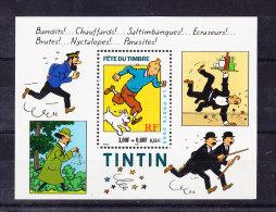 FRANCE Y&T BL 28 XX TINTIN HERGE. (4BD18) - Bandes Dessinées