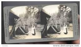 """Dalecarlian Girls At Home """"Skansen"""" Stockholm, Sweden, 1900 - Sweden"""