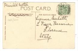 467/600 - GRAN BRETAGNA , Cartolina Da Dublin Ju 19 05 Per L' Italia. Christ Church - Storia Postale