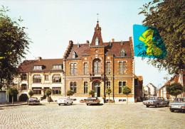 FRASNES-LEZ-ANVAING - L'Hôtel De Ville - Carte Colorée Moderne - Frasnes-lez-Anvaing
