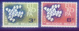Belgien Cept Michel Nr. 1253 - 1254 , ** , - Belgique