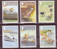Gibraltar Centenary Of Naval Aviation Mint NH VF - Gibraltar