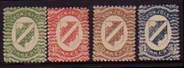 FINLANDE - INKERI POHJOIS - 1920 - Serie Courant - 4v** - Finland