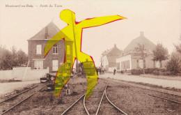 MONTROEUL-au-BOIS  - Arrêt Du Train - Frasnes-lez-Anvaing