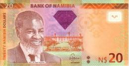 NAMIBIE  20 Namibia Dollars  Emission De 2011     ***** BILLET  NEUF ***** - Namibie