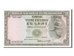 [#254490] Timor, 20 Escudos, Type Regulo D. Aleixo - Billets