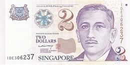 [#254470] Singapour, 2 Dollars, Type Président Encik Yusof Bin Ishak - Singapour