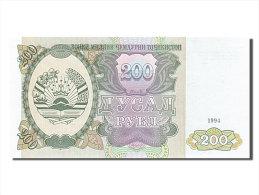 [#254476] Tadjikistan, 200 Roubles, Type Parlement - Tadjikistan
