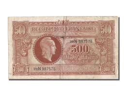 [#202877] 500 Francs Type Marianne, 1945, 500 Francs - Trésor