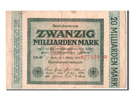 [#302893] Allemagne, 20 Milliards Mark Type 1923 - [ 3] 1918-1933 : Repubblica  Di Weimar
