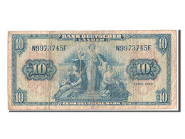 [#302895] Allemagne, 10 Deutsche Marke Type 1949 - [ 7] 1949-… : RFA - Rep. Fed. Tedesca