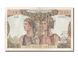 [#202927] 5000 Francs Type Terre Et Mer, 03 Novembre 1949, Fayette 48.2 - 1871-1952 Gedurende De XXste In Omloop