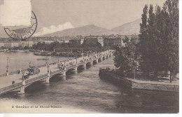 SUISSE - GENEVE - Et Le Mont Blanc - Nr 5 Agence Générale Des Journaux à Genève - D19 1156 - GE Genève