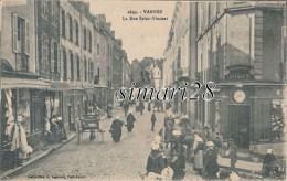 VANNES - N° 2699 - LA RUE SAINT-VINCENT - Vannes