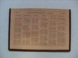 Calendario/calendarietto Porta Foglietti In Pelle 1953 - Calendari
