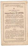 DP: Joannes De Letter - Lokeren +1900 - Vieux Papiers
