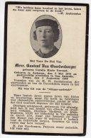 DP: Marie Vervaet - Van Overdenborger  - Lokeren - San Antonio Texas - Vieux Papiers