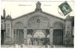 45- COURTENAY-LA  HALLE  AU  BLE  N431 - Courtenay