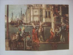 """Calendario """"Lorenzo Rubelli Stoffe D'arte Per L'arredamento - Venezia 1941"""" Particolare Vittore Carpaccio - Calendari"""
