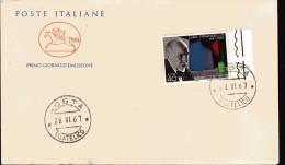 Italia -  FDC. Cavallino. 1967.  Luigi Pirandello. - 6. 1946-.. Republic