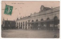 N°53  -  CAEN   -  LA GARE DE L'OUEST - Caen