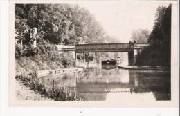 DORDIVES  LE PONT DU CANAL (PENICHE) - Dordives
